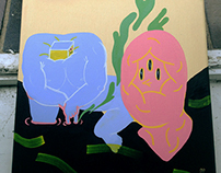 Acrylic creatures