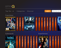 Omni-Q Streaming Media App