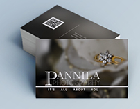 Designed a Business Card for Pannila