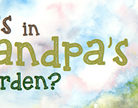 Children's Book Design: Who's In Grandpa's Garden?