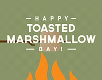 Toasted Marshmallow Day GIF