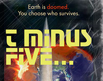 T-Minus Five Promotional Cover