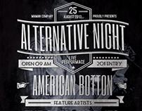 Alternative Typography Flyer/Poster