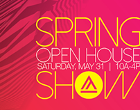Spring Show Outdoor Hanging Banner and Mailpiece