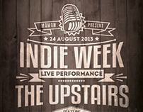 Indie Typography Flyer/Poster
