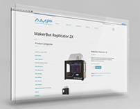 AMP Website and LMS