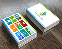 Metro Business Card + Download Link