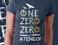 Ateneo @ 100 Shirt Designs