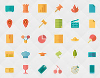 Flat Icon Bundle (2580+ icons)