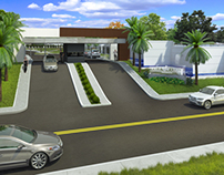 "Exterior Visualization ""Residencial Vale Verde"""