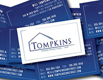 Tompkins Construction Rebrand