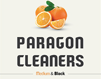 PARAGON CLEANERS font