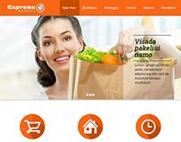 Express MARKET | Website Redesign