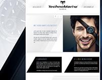 Technomarine webshop UI