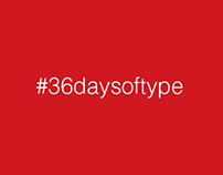 The 36daysoftype experience.