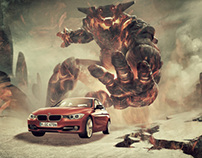 BMW/XBOX Ad Campaign | Unfinished Project