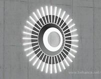 Sun - wall lamp