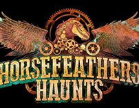 Horsefeathers Haunts Logo