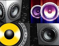 Real Speakers - VJ Loops Pack (3in1)
