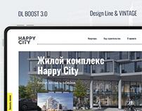 Сайт ЖК Happy City | DL Boost 3.0
