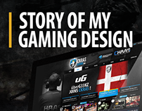 Story of my gaming design