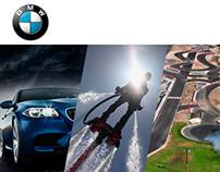 Experiencias BMW, Landing page