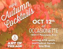 Occasionette - Autumn Cocktails