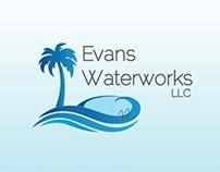 Evans Waterworks Brand Identity