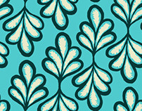 French Baroque/Classic Greek Pattern mashup