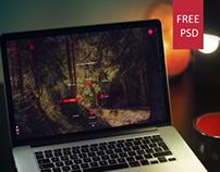 BlackNO - Free PSD