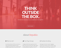 Republic - Creative One Page Multi-Purpose Theme