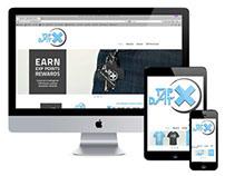 Tap Dat X: Responsive Site
