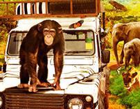 Safari Express Film Key Art