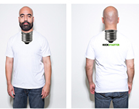 KICKSTARTER: LIGHT BULB SHIRT