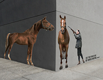 PETA HORSE: STREET CORNER