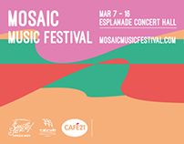 Event Ticket - Mosaic Music Festival 2014
