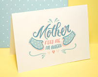Mother's Day Cards - 'The Ungrateful Kid Series'