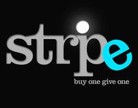 Stripe Shoes Logo
