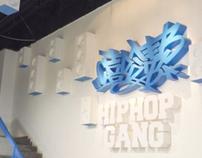 hiphop space interior design