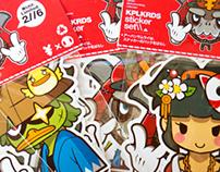 Urban Samurai (侍) Sticker Pack