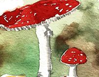 Very mushroomy