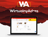 Wirtualny Adres - Dashboard Design