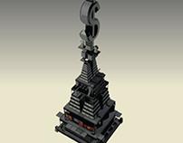 Rat Race - Isometric 3D Design