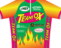 Team Ox 2011 Cycling Jersey