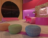 girls center ( 3ds max )