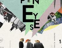 ›Open Eyes‹ Filmfest Marburg   Art Direction & Design