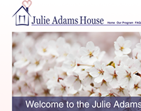 Julie Adams House Website Design