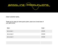 Bassline e-mail