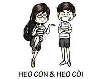 Truyện tranh: Heo Kon & Heo Kòi