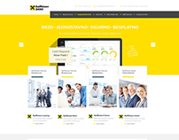 Raiffeisen Bank Serbia Concept Web Design